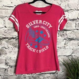 Vintage Chill T-shirt. Pink. Size Jr. XL.